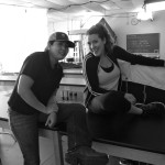 Key Grip Miao Chen and Best Girl Natalie Phillips